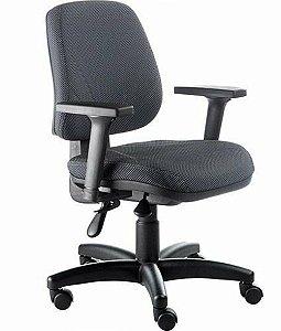 Cadeira Executiva com Base Giratória Linha New Confort Preto