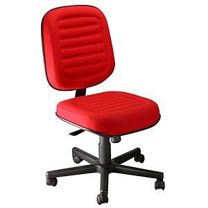 Cadeira Diretor sem Braços Linha Blenda Vermelho