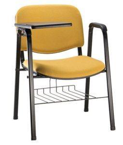 Cadeira Universitária para Auditórios Linha Hotel Auditório Amarelo
