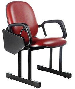 Cadeira Diretor Universitária Linha Auditório Vermelho