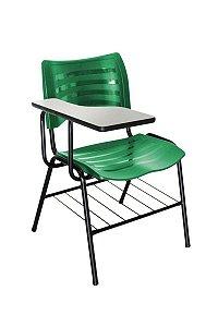 Cadeira Iso Linha Polipropileno Iso Universitária Verde