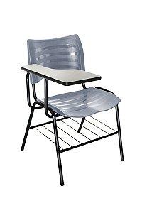 Cadeira Iso Linha Polipropileno Iso Universitária Cinza
