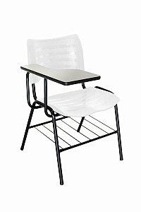 Cadeira Iso Linha Polipropileno Iso Universitária Branco