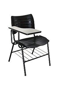 Cadeira Iso Linha Polipropileno Iso Universitária Preto