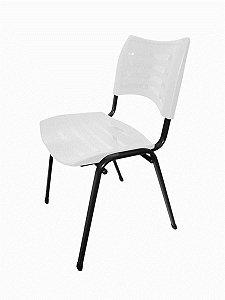 Cadeira Empilhável Iso Linha Polipropileno Iso Branco