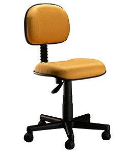 Cadeira Secretária com Base Giratória  Linha Classic Amarelo