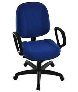 Cadeira Diretor com Braços Linha Classic Azul