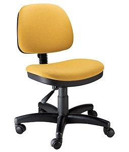 Cadeira Secretária com Back System Linha Confort Plus Amarelo