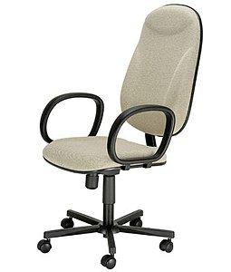 Cadeira Presidente com Braços Linha Executive Cinza
