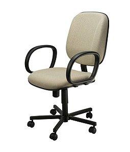 Cadeira Diretor com Braços Linha Executive Cinza