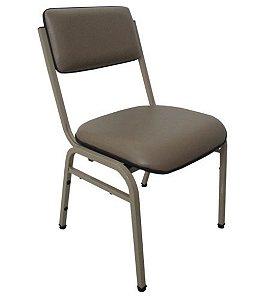 Cadeira Empilhável para Auditórios Linha Hotel Smart Cinza