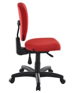 Cadeira Executiva com Back System  Linha Lombar Vermelho