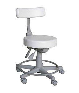 Cadeira Mocho com Back System Linha Mocho Branco