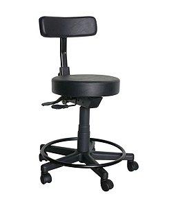 Cadeira Mocho com Back System Linha Mocho Preto