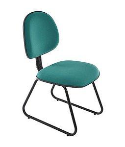 Cadeira Executiva base Trapézio Linha Office Economy Verde