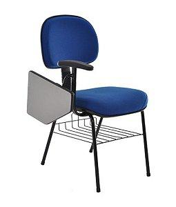 Cadeira Secretária Universitária  Linha Robust Azul