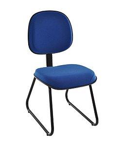 Cadeira Executiva Base Trapézio em S Linha Robust Azul