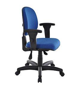 Cadeira Executiva com Back System Linha Robust Cor Azul
