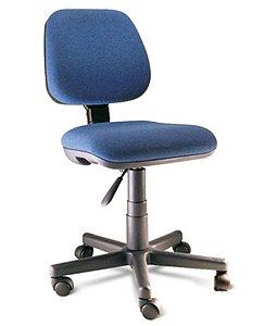 Cadeira Secretária com Braços Linha Safira Azul