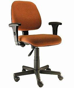 Cadeira Diretor com Braços Linha Safira Vermelho