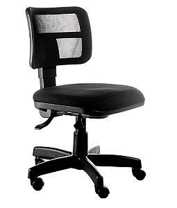 Cadeira Executiva com encosto Tela Mesh Linha Web Design Preto