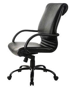 Cadeira Diretor Luxuosa com Base Giratória Linha Chief Preto