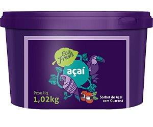 Açaí e Guaraná  - 1,02kg - Pack com 6 unidades