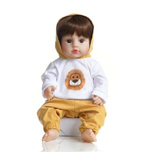 Boneca Bebê Reborn Laura Baby Benjamin 100% Vinil