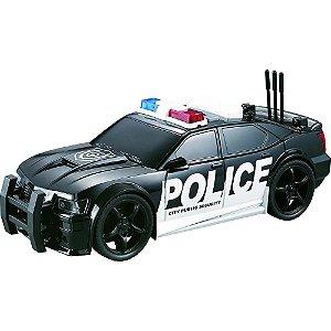 Carro de Polícia  com luz e som 1:20