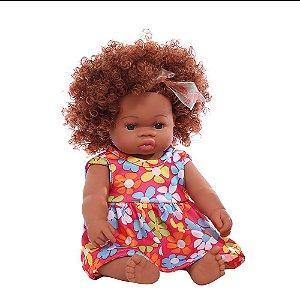 Boneca Bebê Reborn Laura Baby Sweet Claire 100% Vinil
