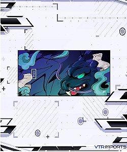 (Envio em até 25 dias úteis) Mousepad Inked Gaming Collab VTR Imports - Blue Dragon XXL (120X60cm)