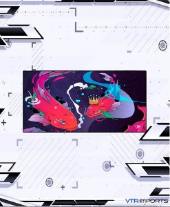Mousepad Inked Gaming Collab VTR Imports - Koi Pond XXL (120x60cm)