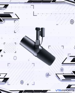 Microfone Shure SM7B Cardioid Dynamic