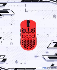 Mouse HK Gaming Mira S Ultra Lightweight Honeycomb Shell Wired RGB Gaming Mouse - Up to 12 000 cpi | 6 Buttons - 61g Only (Mira-S, Monza)