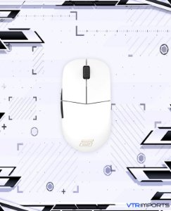 (ENCOMENDA) Mouse ENDGAME GEAR XM1r Gaming Mouse - PAW3370 Sensor - 50 to 19,000 CPI - 5 Buttons - GM8.0 Switches - White