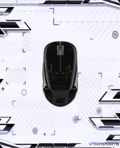 (ENCOMENDA) Mouse ENDGAME GEAR XM1r Gaming Mouse - PAW3370 Sensor - 50 to 19,000 CPI - 5 Buttons - GM8.0 Switches - Dark Reflex (Glossy)