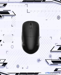 (ENCOMENDA) Mouse ENDGAME GEAR XM1r Gaming Mouse - PAW3370 Sensor - 50 to 19,000 CPI - 5 Buttons - GM8.0 Switches - Dark Frost (Matte)