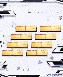 Memória RAM G Skill Golden  3600mhz CL14 2x8GB - Totalizando 16GB