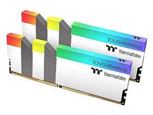 Memória RAM Thermaltake White 4600mhz CL19 2x8GB - Totalizando 16GB