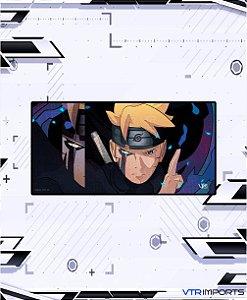 (Disponível em Pré-Venda até 23/10) Mousepad Inked Gaming Anime Edition Collab VTR Imports - Boruto XXL 120x60cm