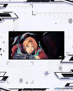 (Disponível em Pré-Venda até 23/10) Mousepad Inked Gaming Anime Edition Collab VTR Imports - Fullmetal XXL 120x60cm