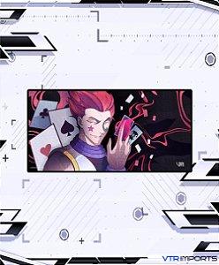 (Disponível em Pré-Venda até 23/10) Mousepad Inked Gaming Anime Edition Collab VTR Imports - Hisoka Large 90x40cm