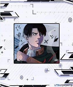 (Disponível em Pré-Venda até 23/10) Mousepad Inked Gaming Anime Edition Collab VTR Imports - Levi AOT Large-s 45x40cm