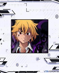 (Disponível em Pré-Venda até 23/10) Mousepad Inked Gaming Anime Edition Collab VTR Imports - Meliodas Large-s 45x40cm