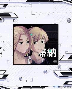 (Disponível em Pré-Venda até 23/10) Mousepad Inked Gaming Anime Edition Collab VTR Imports - Tokyo Revengers Large-s 45x40cm