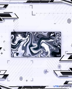 (SEM PREVISÃO, marque a opção AVISE-ME para ser notificado quando chegar um novo estoque) Mousepad Company XXL 120x60cm - Strata Liquid 01