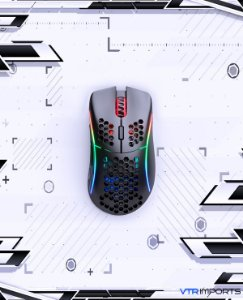 (PRONTA ENTREGA) Mouse Glorious Model D Preto