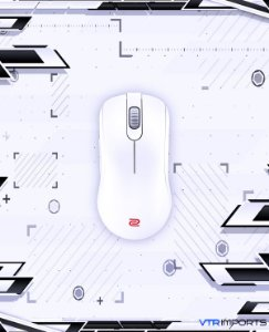 (PRONTA ENTREGA) Mouse Zowie Gear S1 White Edition