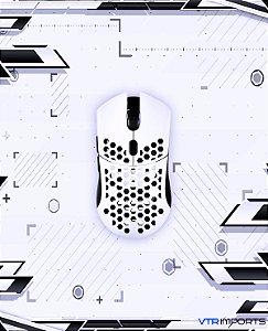 Finalmouse Ultralight Pro White com Hyperglides e Paracord - s/caixa