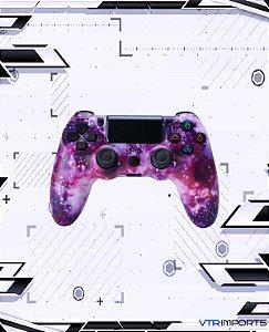 Controle PS4 - Galaxy (Acompanha caixa e cabo carregador)